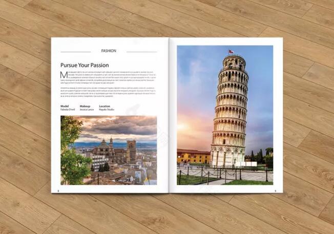旅游行业画册设计案例欣赏