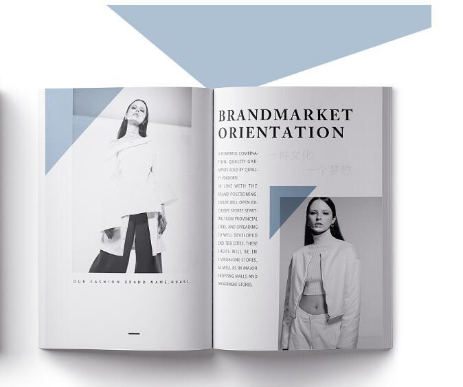 极简女装画册设计案例欣赏