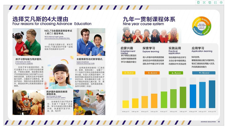 教育行业画册设计案例欣赏
