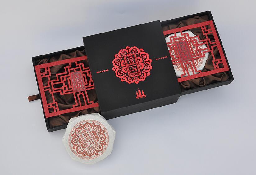普洱茶叶包装设计案例,普洱茶叶包装设计欣赏