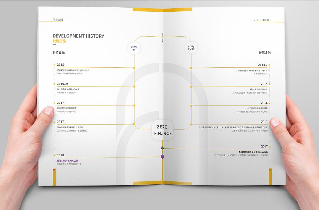 金融行业画册设计案例欣赏
