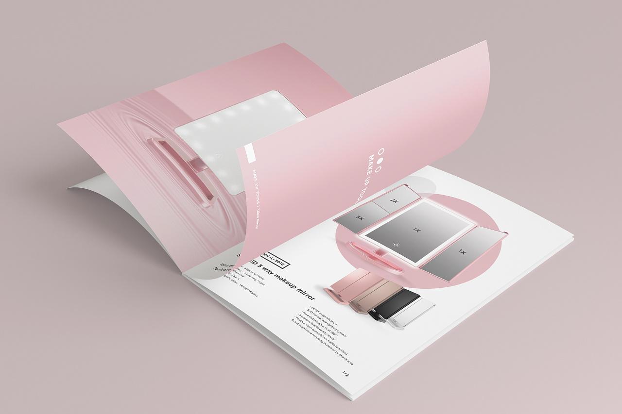 化妆品画册设计,画册设计