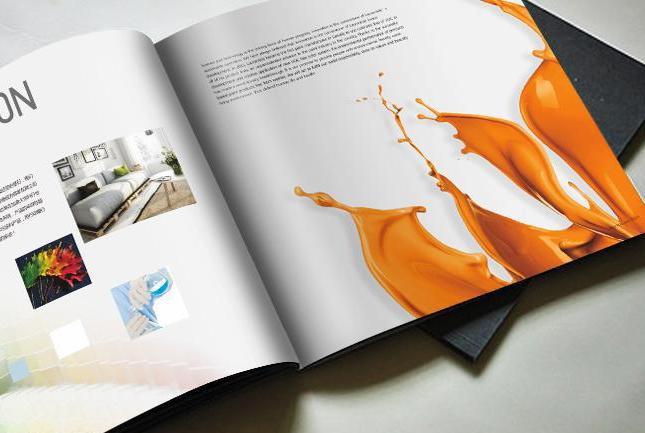 我们一直跟这家涂料画册设计公司合作