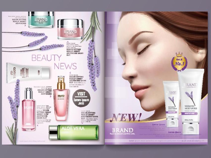 美容产品画册设计公司,美容产品画册设计