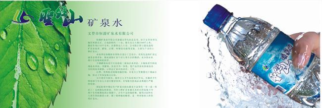 矿泉水产品画册设计公司