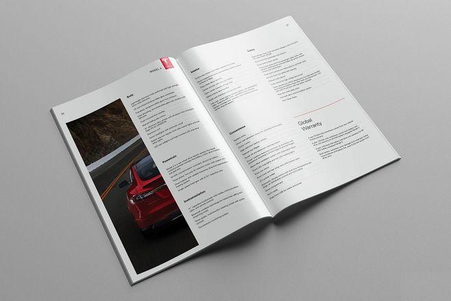 一般的模型公司画册设计公司的设计灵感是怎么来的