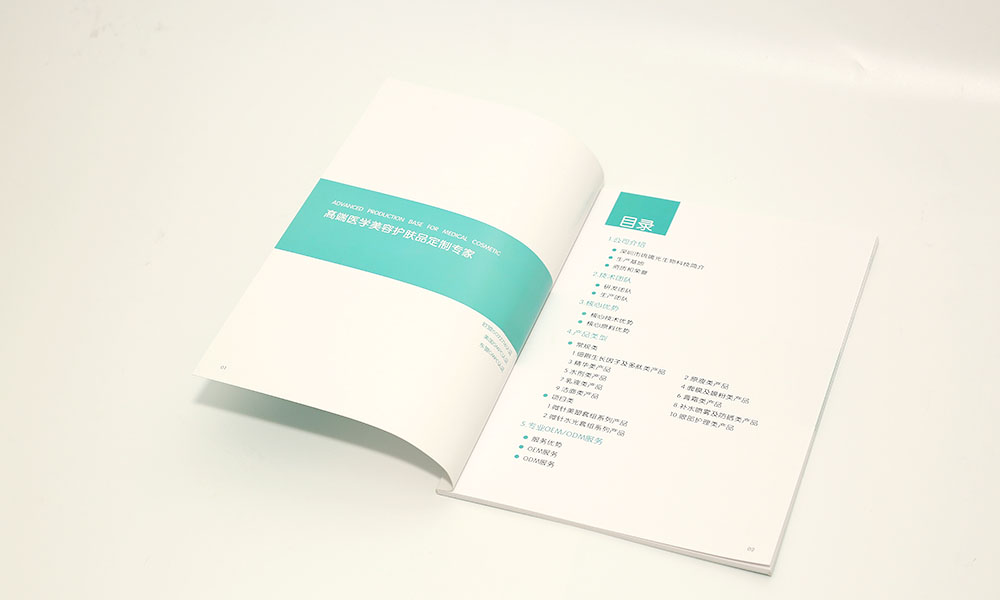 美容产品招商画册设计