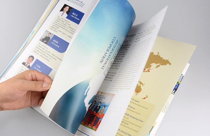 学院画册设计公司须知的画册设计技巧