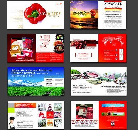 食品企业画册设计公司