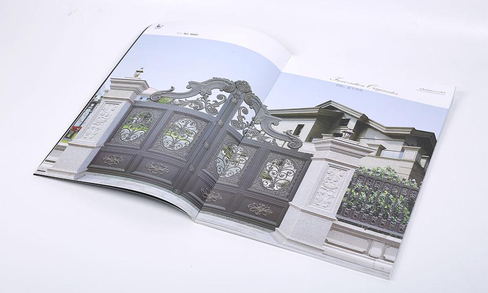 铝艺大门画册设计