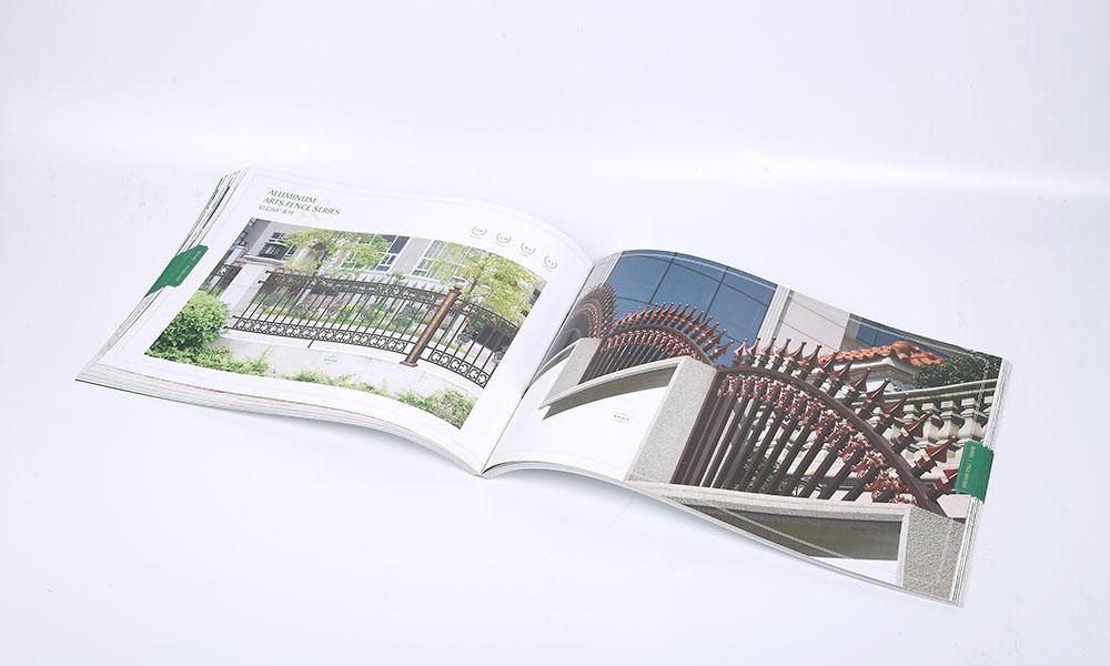 铝艺大门设计画册设计-艺术铝护栏宣传画册设计-创意铝围栏目录设计