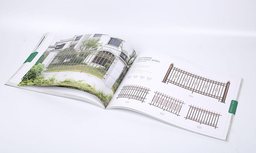 铝艺大门设计画册设计