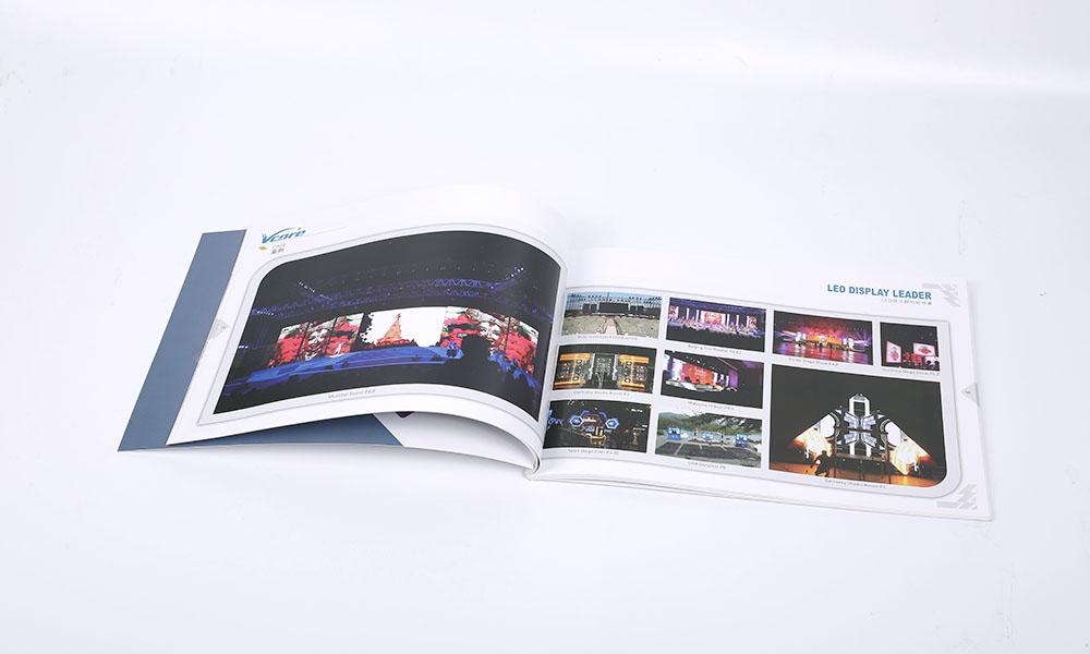 LED灯光宣传画册设计