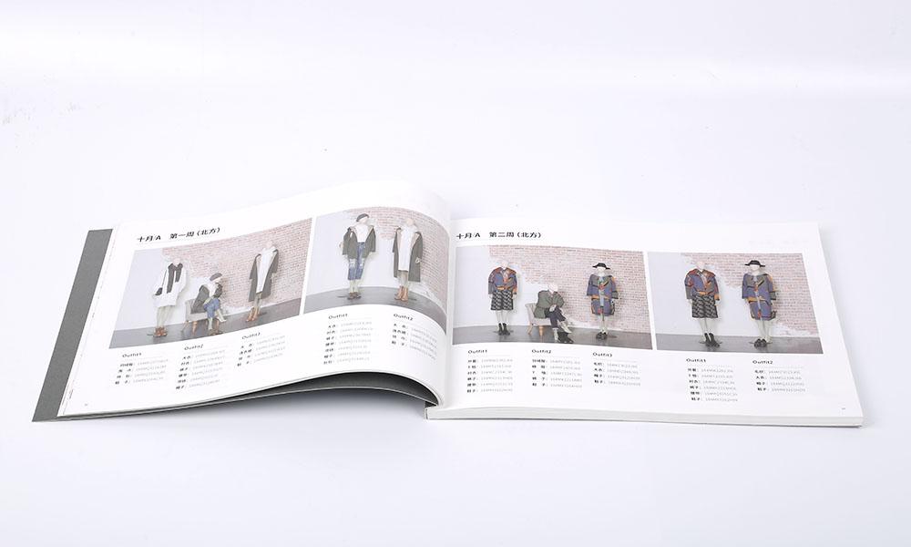 冬季陈列服装画册设计