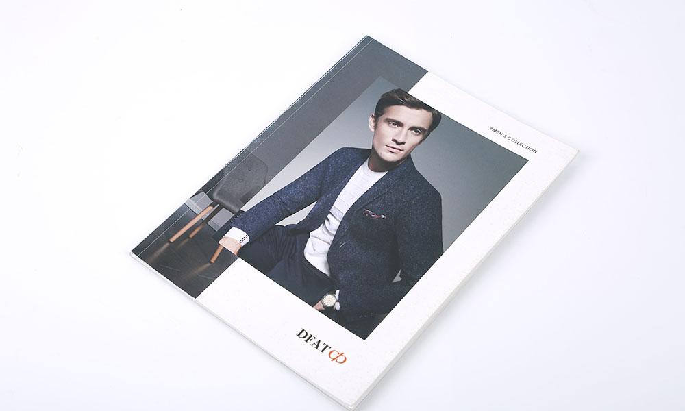 品牌男装画册设计-男士服装画册设计-品牌服装宣传画册设计