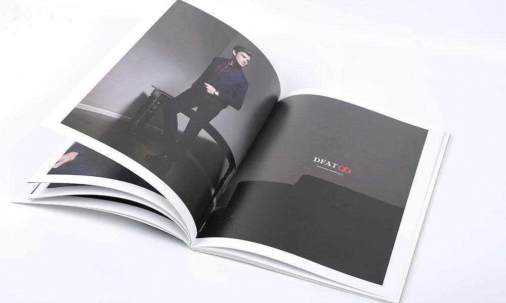 男士服装画册设计