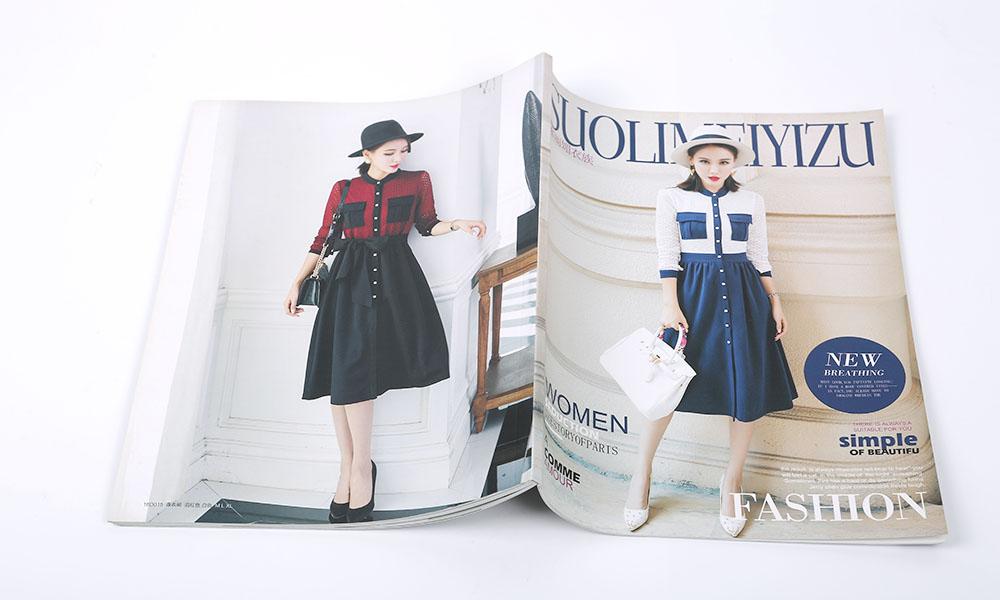 流行款式服装画册设计-时尚时装服装宣传画册-品牌服装图册设计