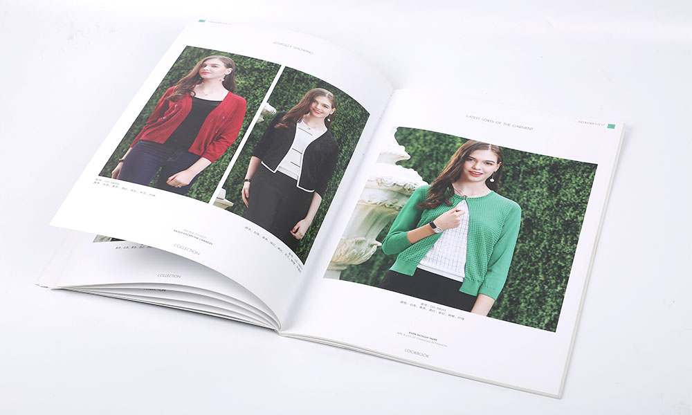 时尚品牌服装画册设计
