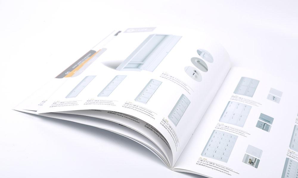 钢柜公司产品画册设计