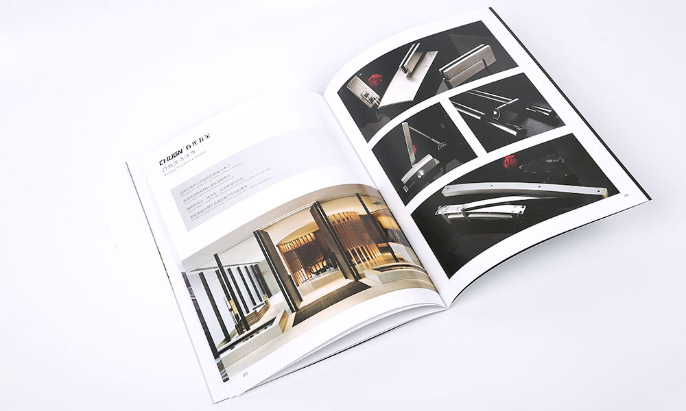 门窗五金企业画册设计