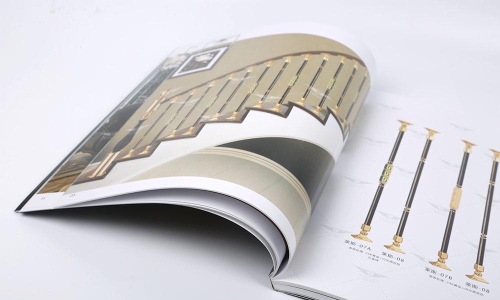 铜艺楼梯公司画册设计