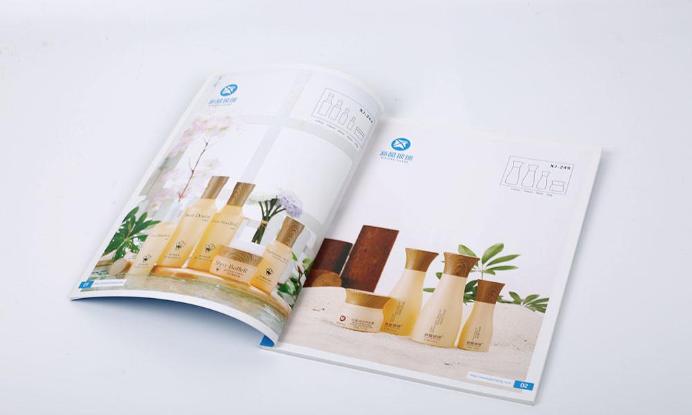 玻璃制造公司画册设计