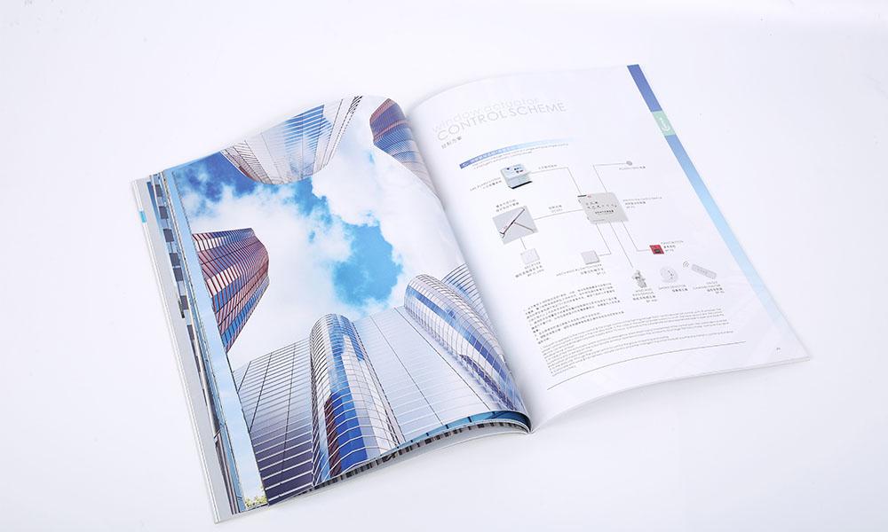 LED彩幕屏画册设计