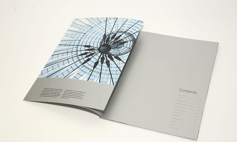 钢结构工程画册设计