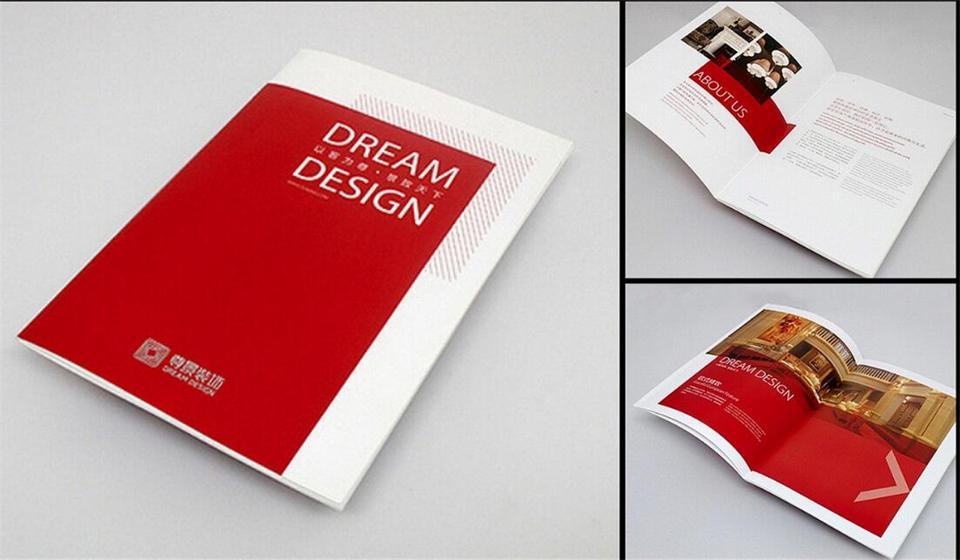 选择设计宣传画册的公司的这些技巧你要了解