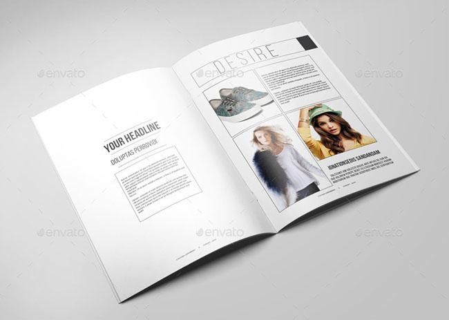 服装品牌画册设计要素和细节把握